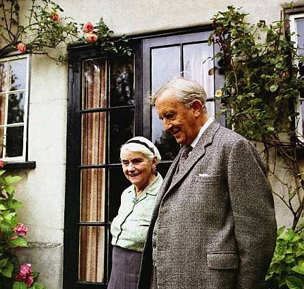 J.R.R. Tolkien and his beloved wife Edith