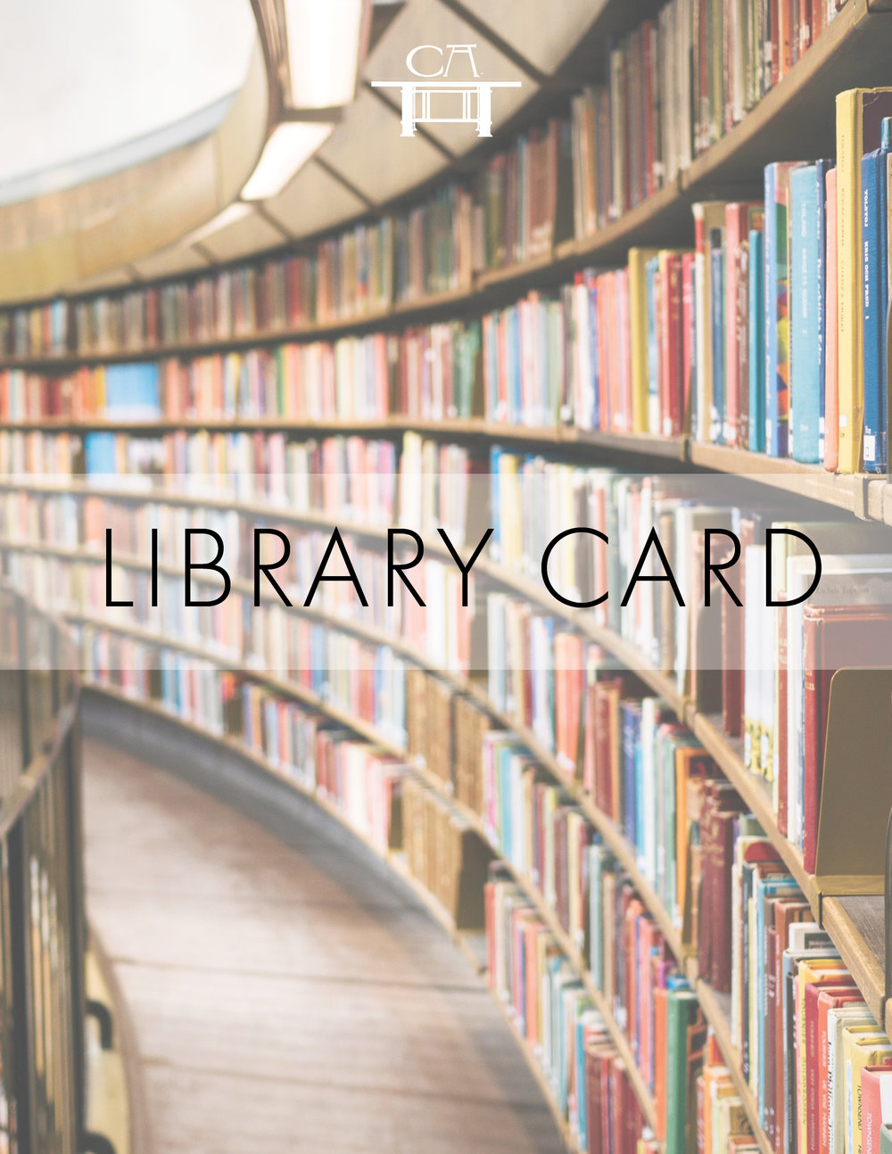Library Card - Open up more opportunities with your Cana Academy Library Card and access all our digital guides, including guides on how to lead discussions on great works of literature. Master members only.