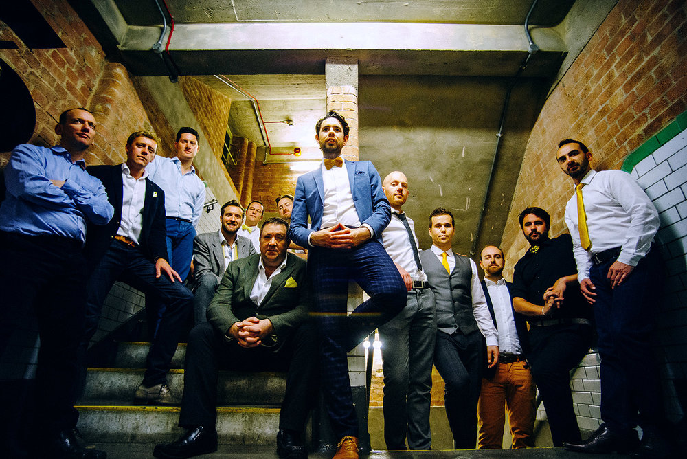 The Buzztones A Cappella Stairs