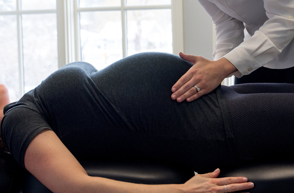 Chiropractic for pregnancy to relieve low back pain and improve fetal positioning