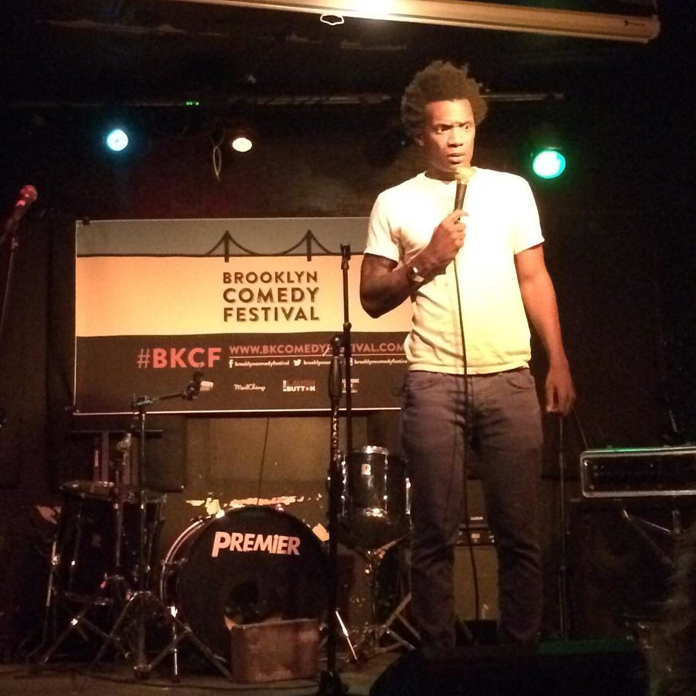 @seatonsmith closing out one of our opening night shows at #BrokenComedy #matchless on Monday night! (at Bar Matchless)