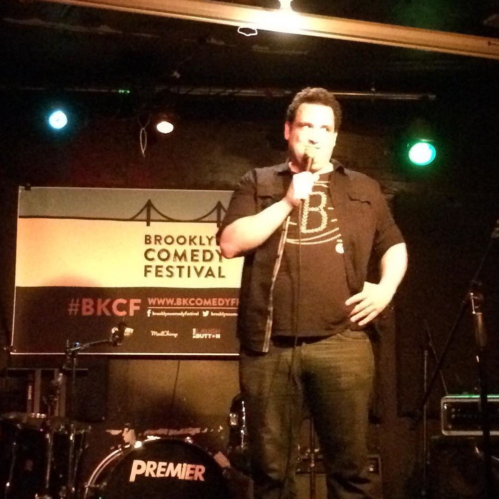 @nicksturners at #matchless for a #BKCF edition of #BrokenComedy on Monday night! (at Bar Matchless)