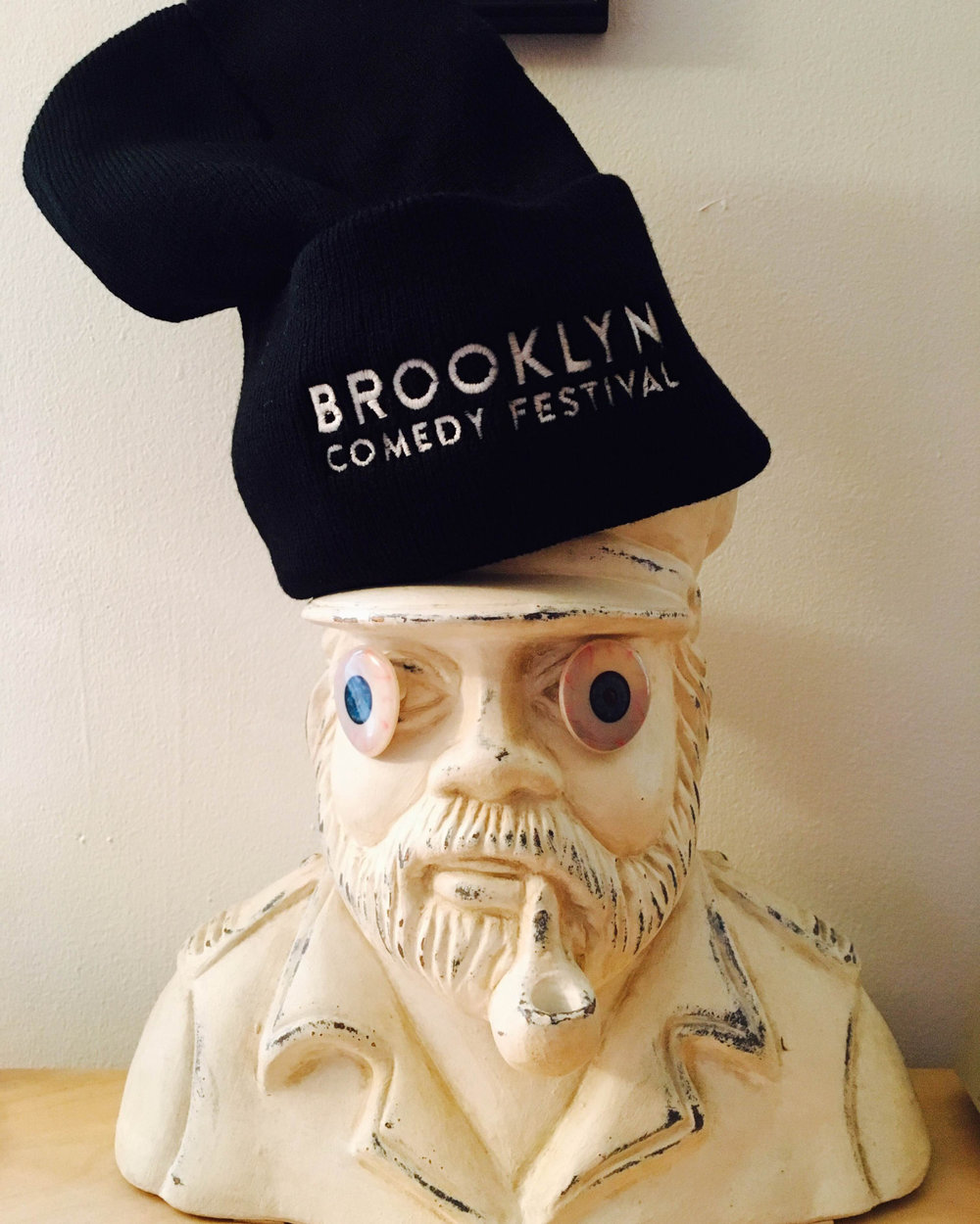 Limited number of  ‪‬  beanies on sale tonight during our holiday show +  New York Cares  coat drive at  Knitting Factory Brooklyn ! FREE  Sixpoint  BEER from 7:30-8:30! Each coat you donate gets you a chance to win a free  Chambong ! LET'S PARTY, BROOKLYN!