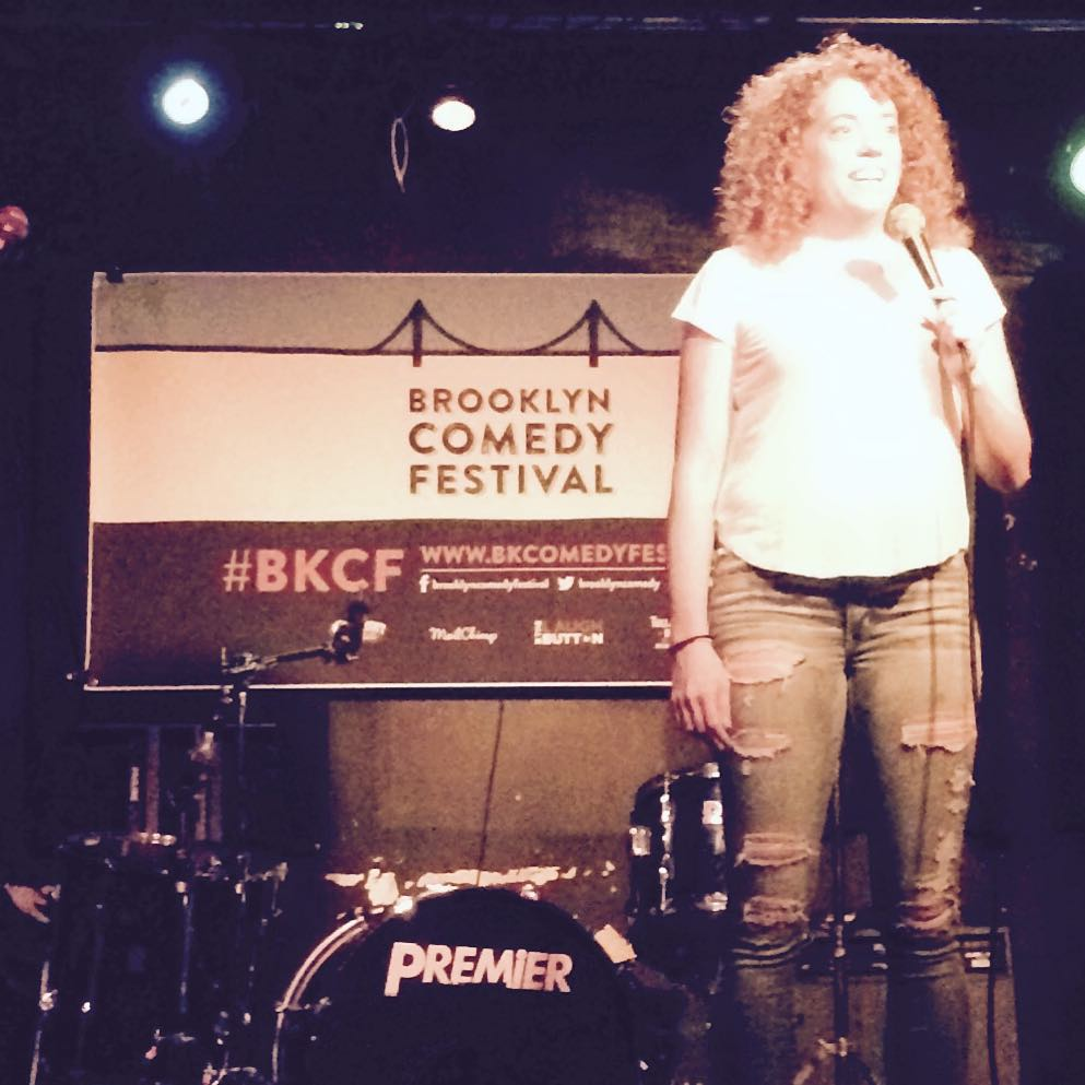 @michelleisawolf rocked it tonight at #matchless for #BrokenComedy. #BKCF (at Bar Matchless)