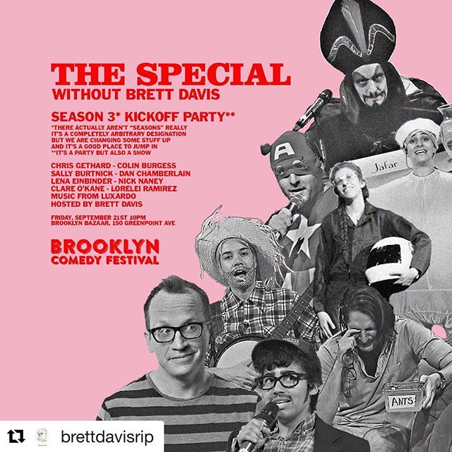Still tix avail online & at the door! TONIGHT closing out Friday w/ @brettdavisrip & co. 10PM @bkbazaar