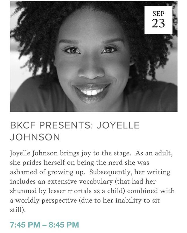 Tonight 7:45pm @bkbazaar the amazing @joyellenicole with @alex3nglish tickets at the door! Come do all the laughing! - - - - - - - - - - - - - - - #brooklyn #comedy #festival #bkcf #brooklyncomedy #brooklyncomedyfestival #brooklyncomedyfest #bkcf2018 #standupcomedy #podcasts #film #sketchcomedy #improv #comedians #comic #comics