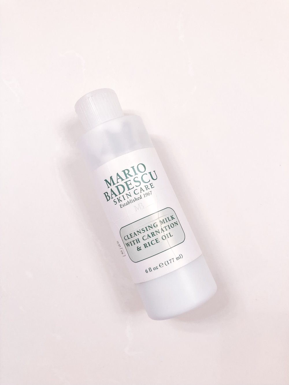 Mario Badescu Cleansing Milk with Carnation + Rice Oil | hello vashti