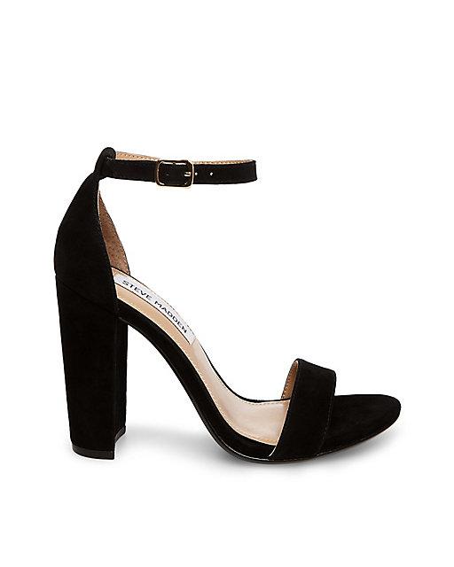 Simple Black Chunky Heel | hello vashti