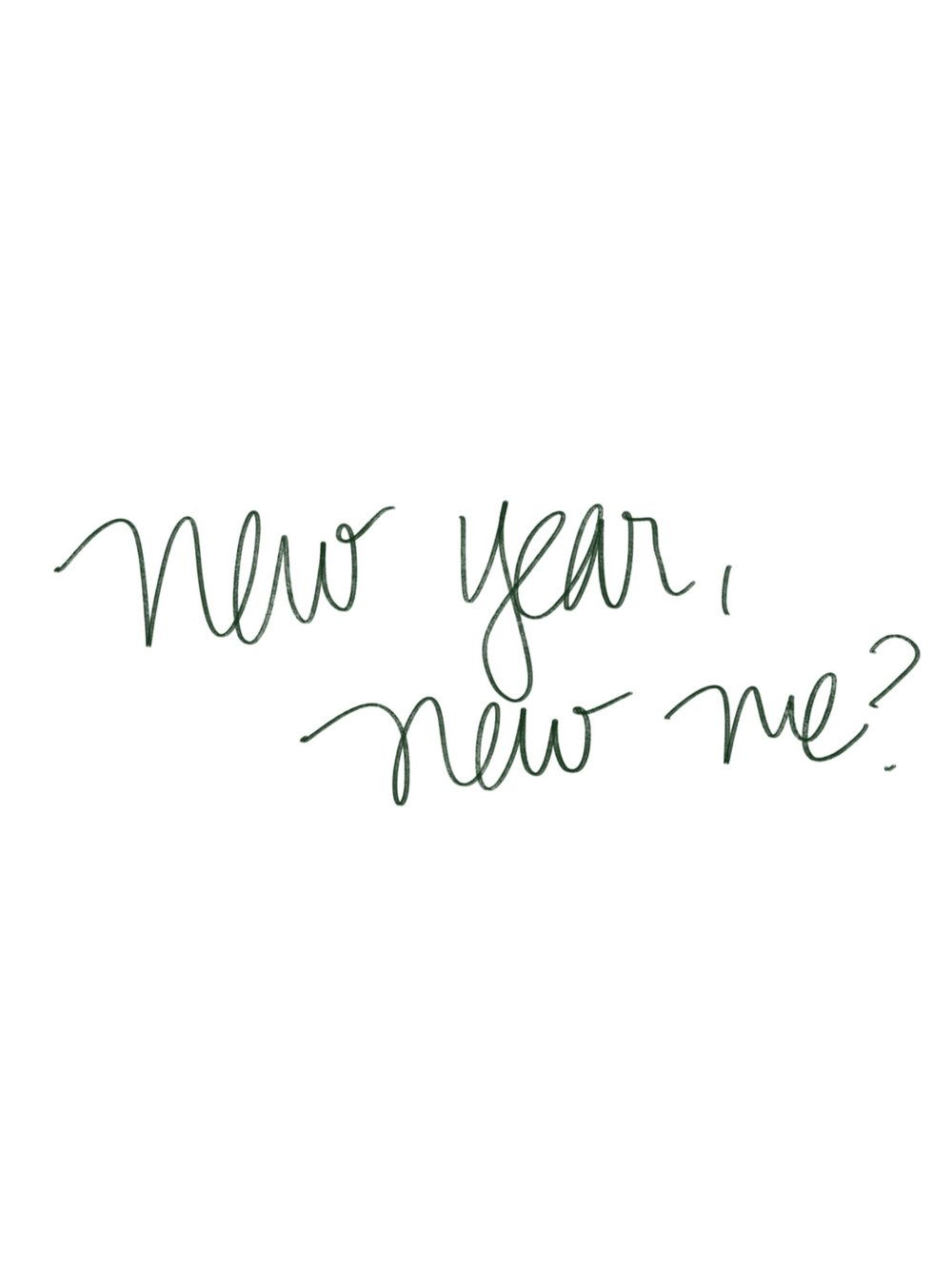 new year, new me? | hello vashti