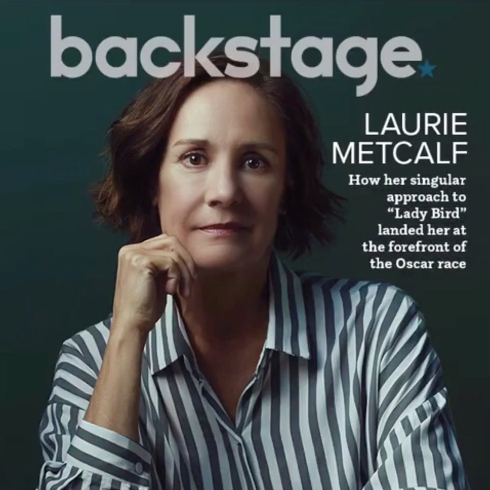 Laurie Metcalf Backstage Magazine Cover