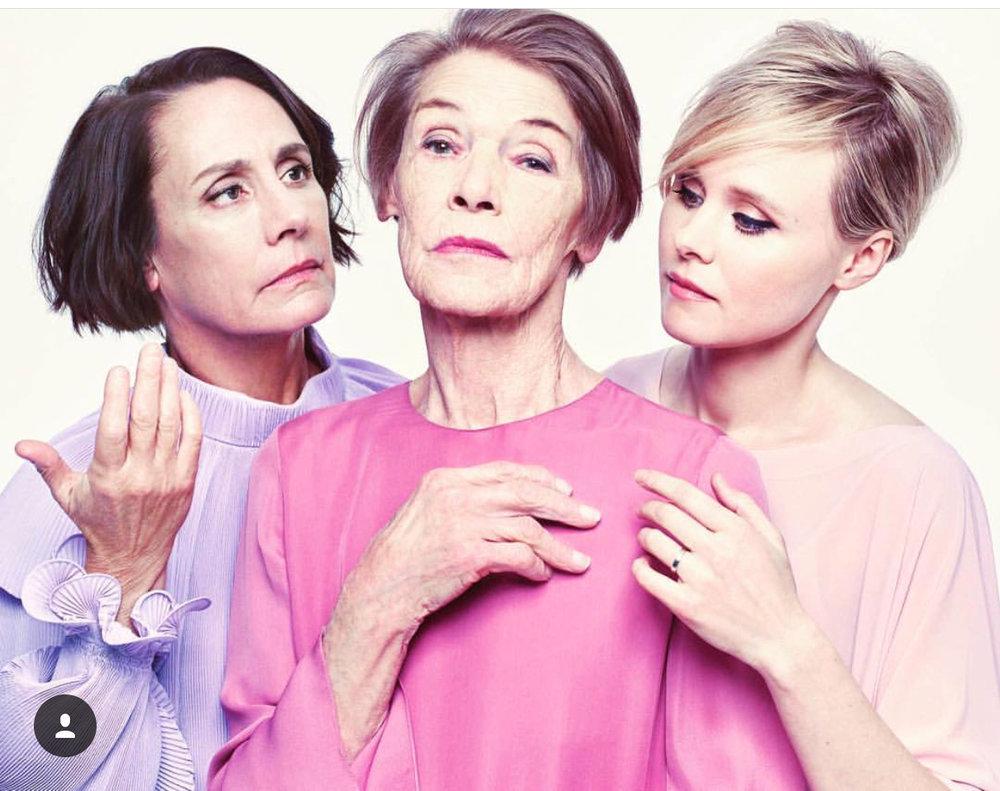 Cast of Three Little Women