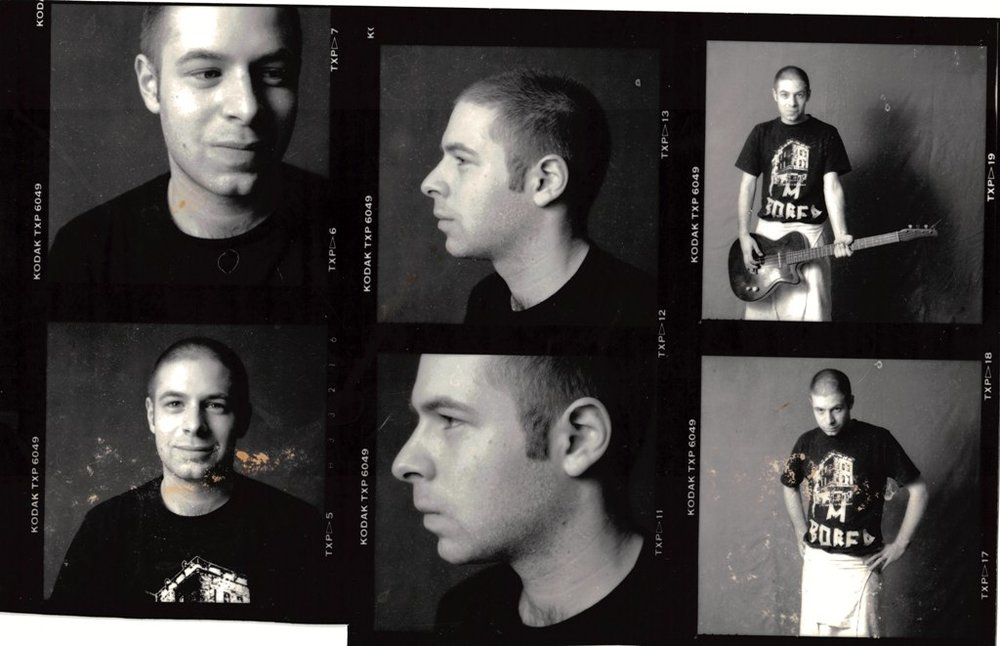 These photos are courtesy  Charles Steck ; they were taken upstairs at  D.C. Space  around 1989.