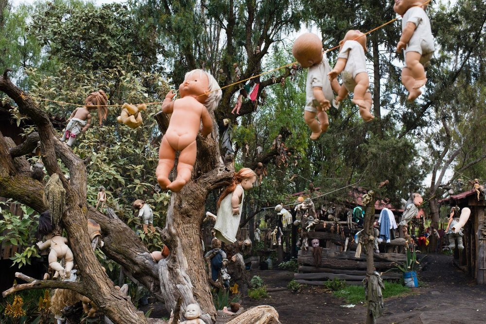 Island of the Dolls, Mexico City