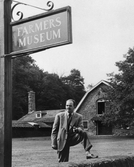 CGP Founder Louis C. Jones at The Farmers' Museum