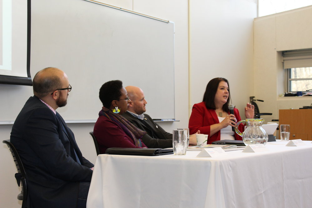 CGA Alumni offer advice to current students at the annual Alumni Forum