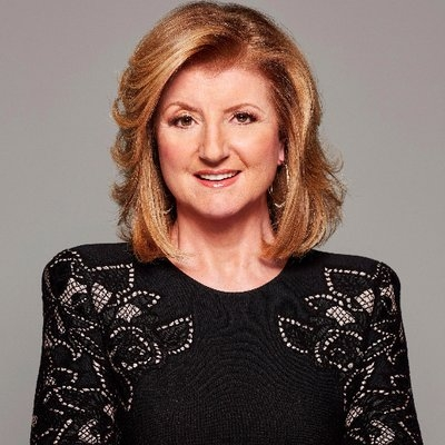 <b>Arianna Huffington</b>Founder, Huffington Post; Founder & CEO, Thrive Global