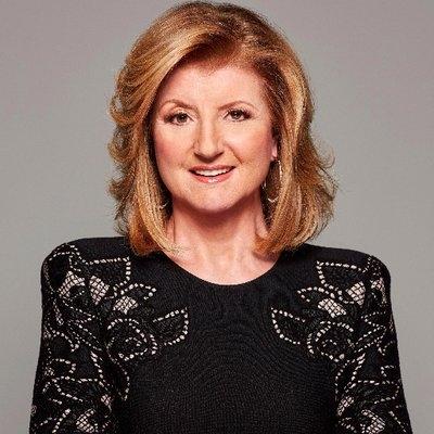 <b>Arianna Huffington</b>Founder, Huffington Post; Founder & CEO, Thrive Global