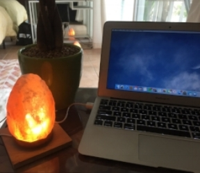 Salt Lamp's are amazing for detoxifying your place & your body! Plus this handy model plugs right into your laptop to keep it fresh too! Perfect during Mercury Retrograde! And it's only $10!   Snag yours here.