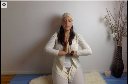 Kundalini Yoga Set to Calm your Nervous System   USE PASSWORD: STAMINA  [30 mins]