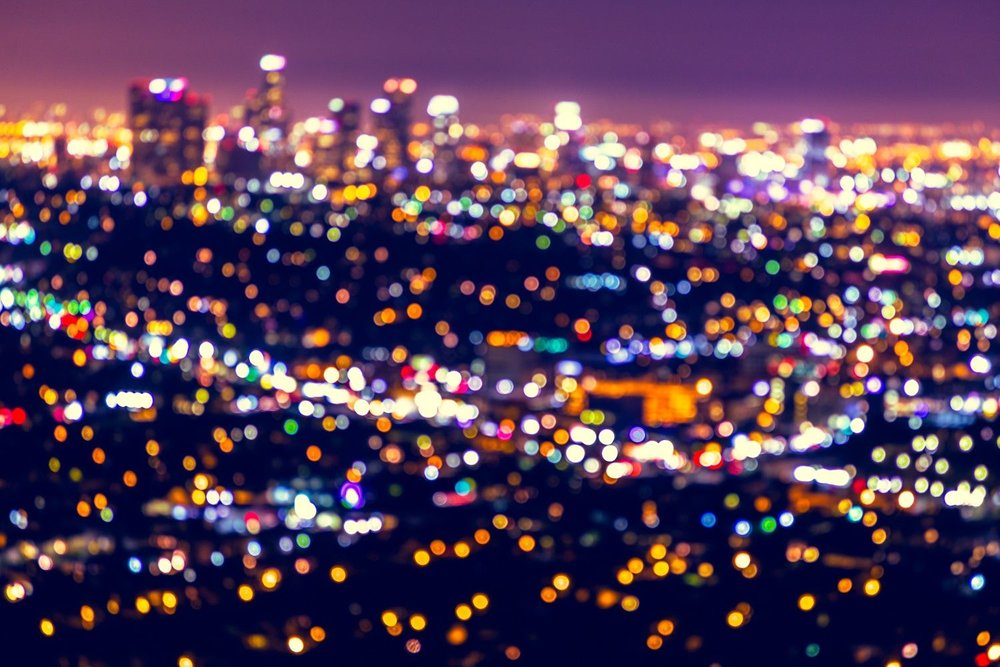 "Love Los Angeles and ""bokeh:"" photos"