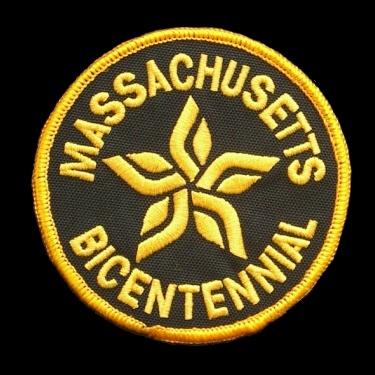 WANTED - Massachusetts Bicentennial patch worn during the 1975-76 season.