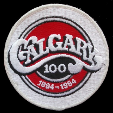 WANTED - City of Calgary 100th anniversary patch worn during the 1983-84 season