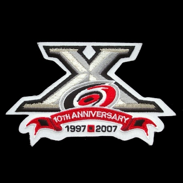 WANTDED - 2007-08 Hurricanes 10th anniversary patch