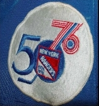 WANTED - Rangers 50th Anniversary patch worn during the 1975-76 season