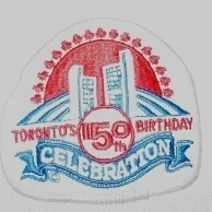 WANTED - Toronto 150th Birthday patch worn during the 1983-84 season