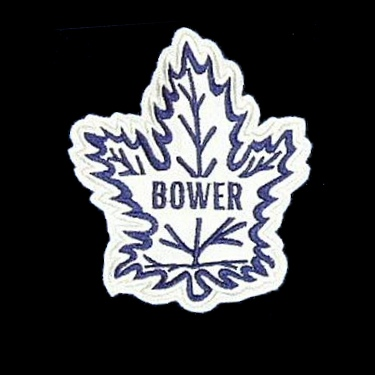 WANTED - BOWER and BRODA patches worn during the 1994-95 season