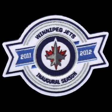 WANTED - Jets inaugural season patch worn during teh 2011-12 season
