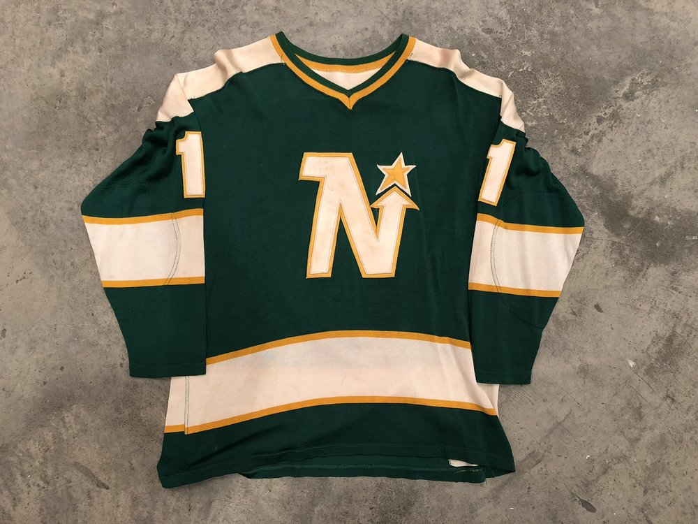 Gump Worsley Minnesota North Stars Game Worn Jersey - 1964 & 1968 Vezina Winner