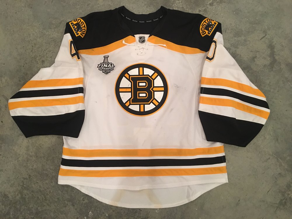 2013 Boston Bruins Stanley Cup Finals Game Worn Road Jersey - Tuuka Rask