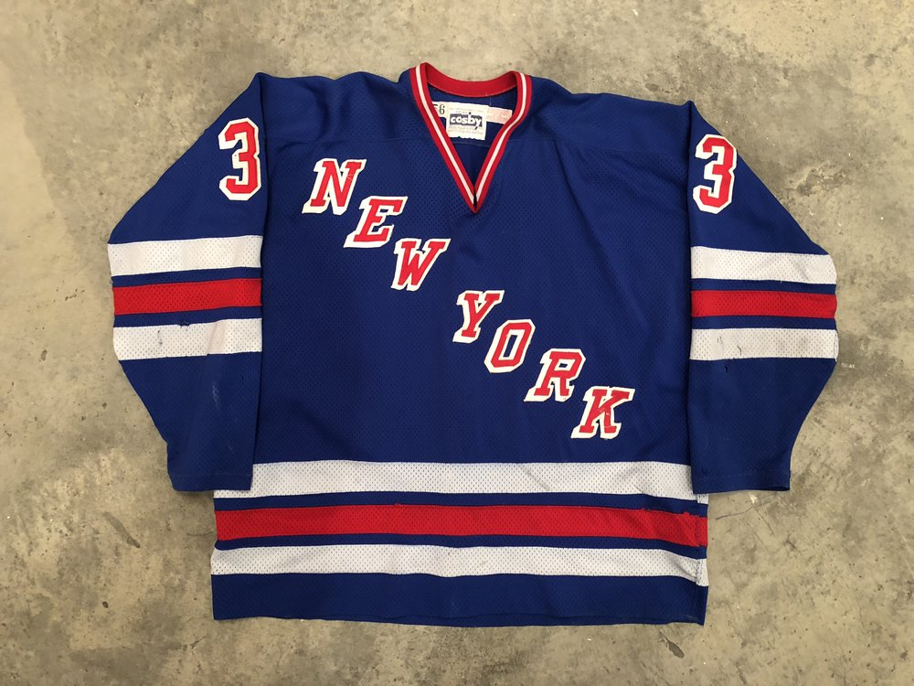1984-85 Doug Soetart Game Worn Road Jersey