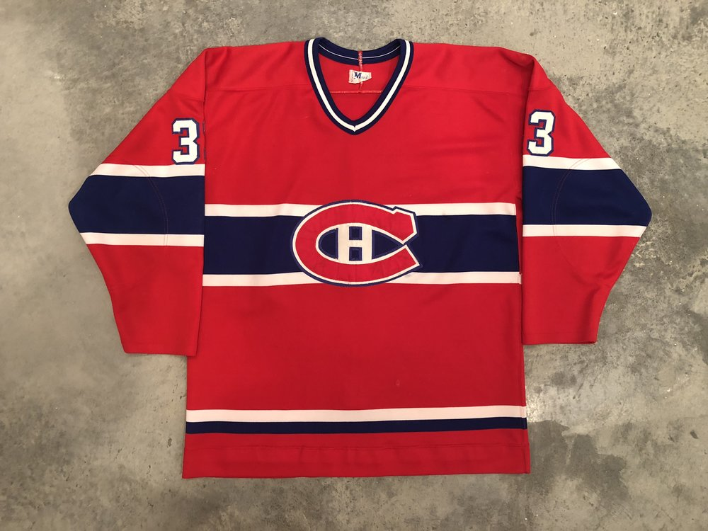Richard Sevigny Montreal Canadiens Game Worn Jersey - 1981 Vezina Winner