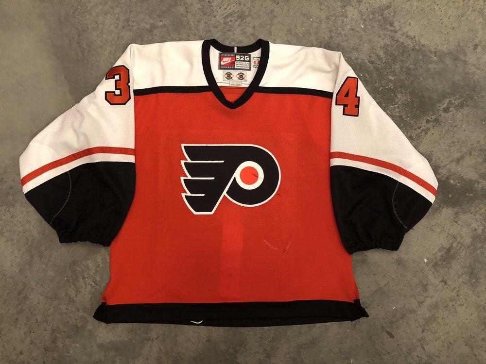 1998-99 Philadelphia Flyers game worn road jerse