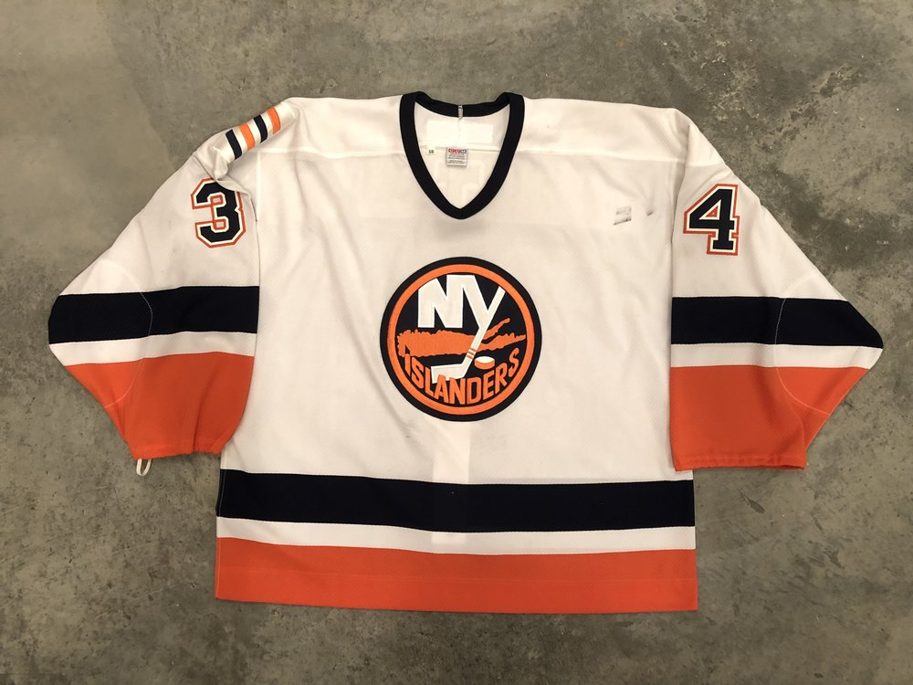 2000-01 New York Islanders game worn home jersey
