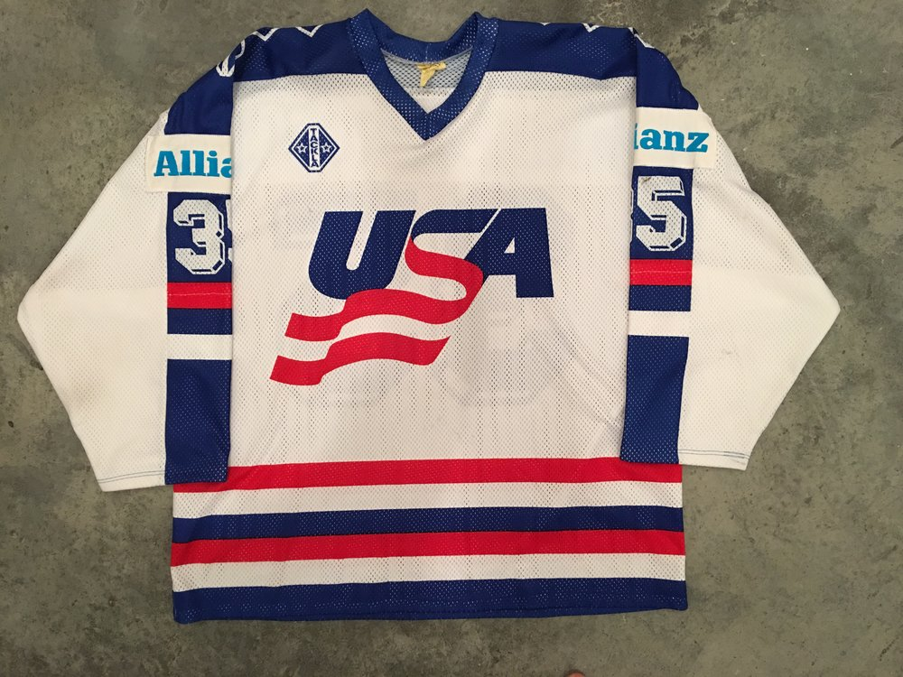 1991 World Championships Team USA game worn jersey