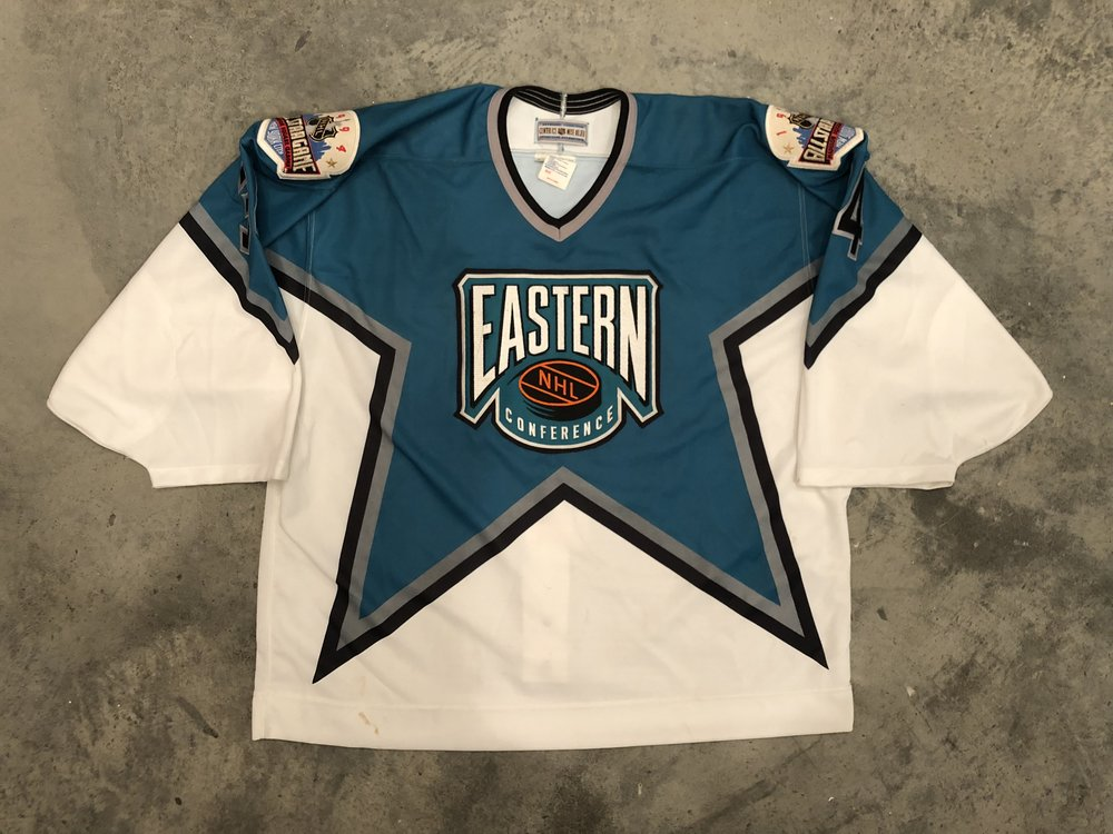 1994 NHL All Star Eastern Conference game worn jersey