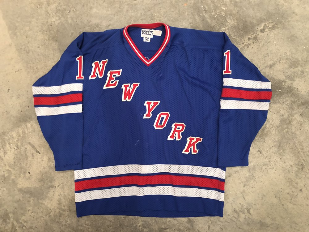 1980-81 Wayne Thomas Game Worn Road Jersey