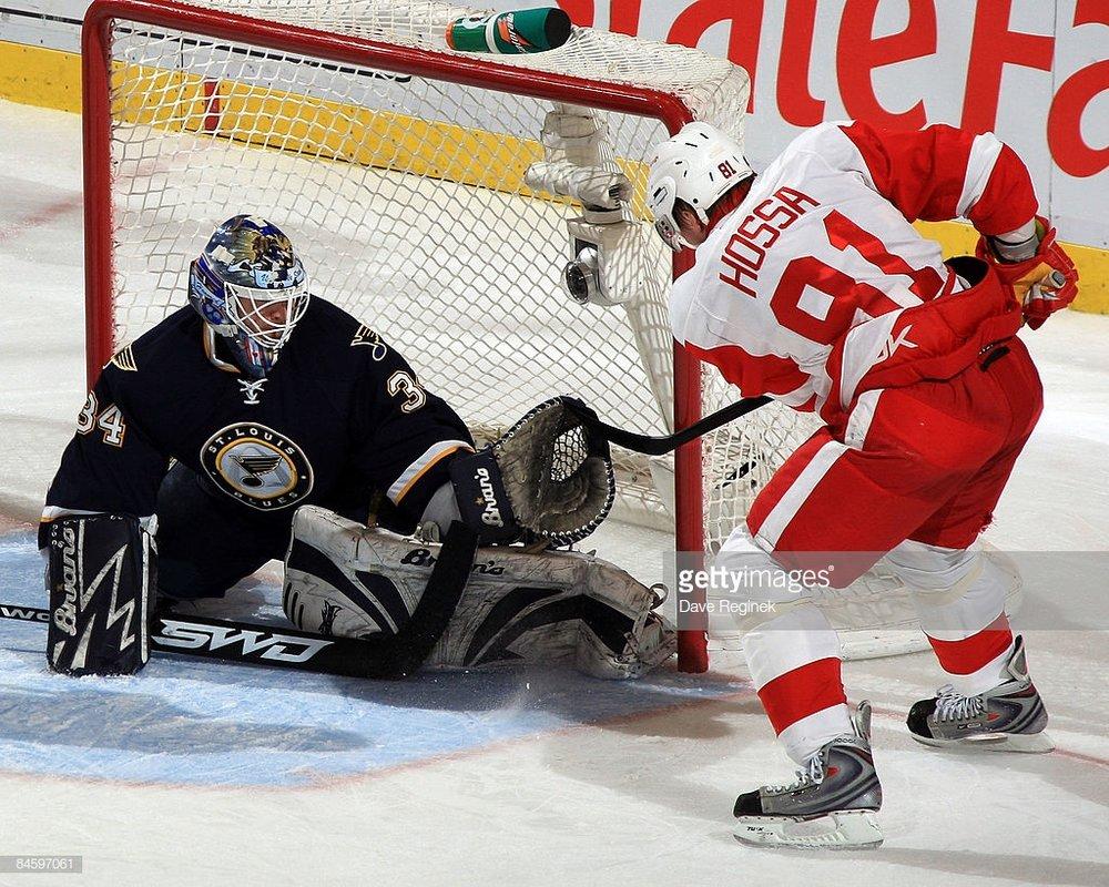 02/02/2009 - Blues vs. Red Wings