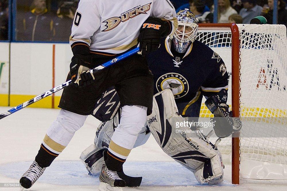 11/21/2008 - Blues vs. Ducks