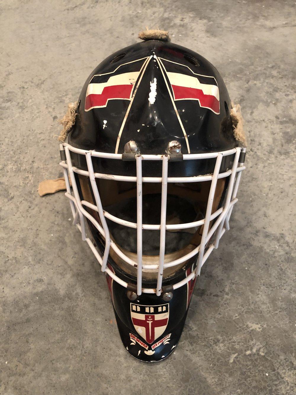 1992-96 Damian Zunino Groton School game worn mask