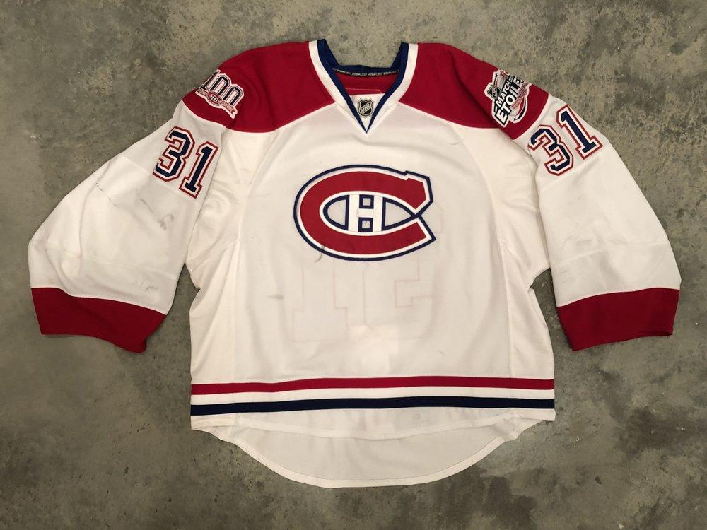 Carey Price Montreal Canadiens Game Worn Jersey - 2015 Vezina Winner