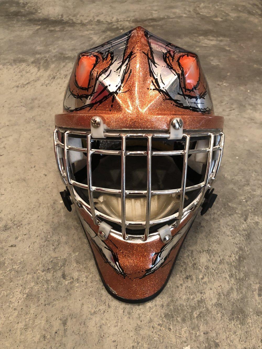1989-99 John Vanbiesbrouck Philadelphia Flyers game worn mask
