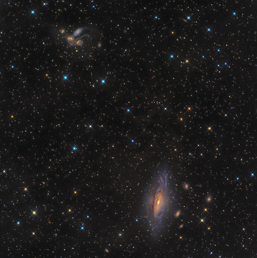 NGC 7331-Deer Lick Group (DGRO-Rancho Hidalgo)