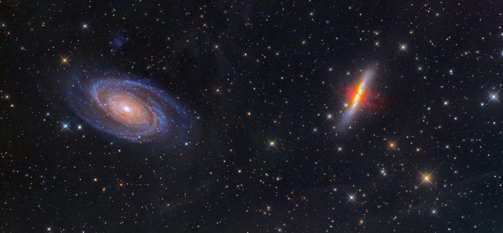 M81 and M82 (DGRO-Rancho Hidalgo)