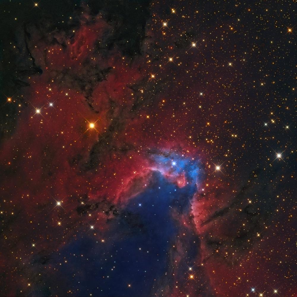 Cave Nebula, Caldwell 9, SH2-155