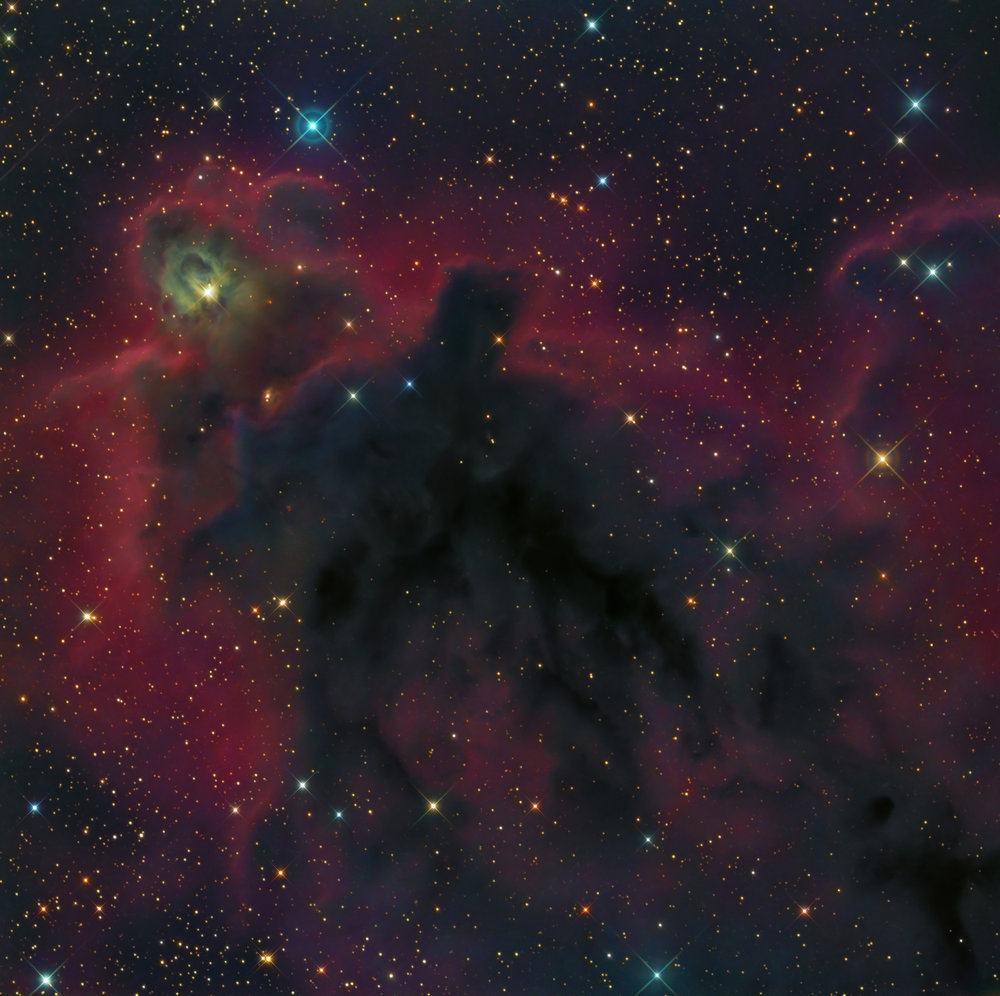 LDN 1622 Dark Nebula