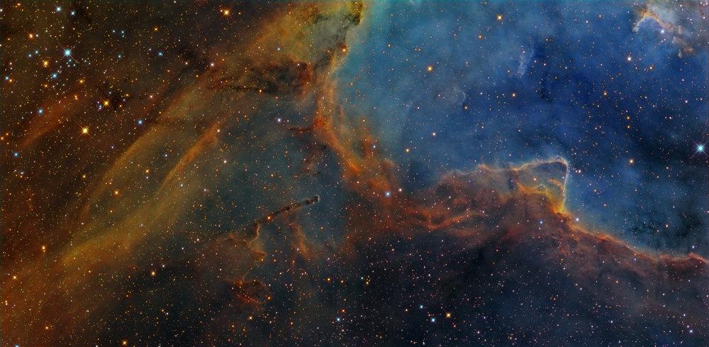 NGC 1027 adn IC 1805